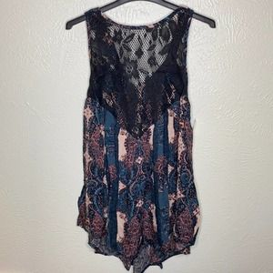 Free People Count Me In Trapeze Extra Small NWT